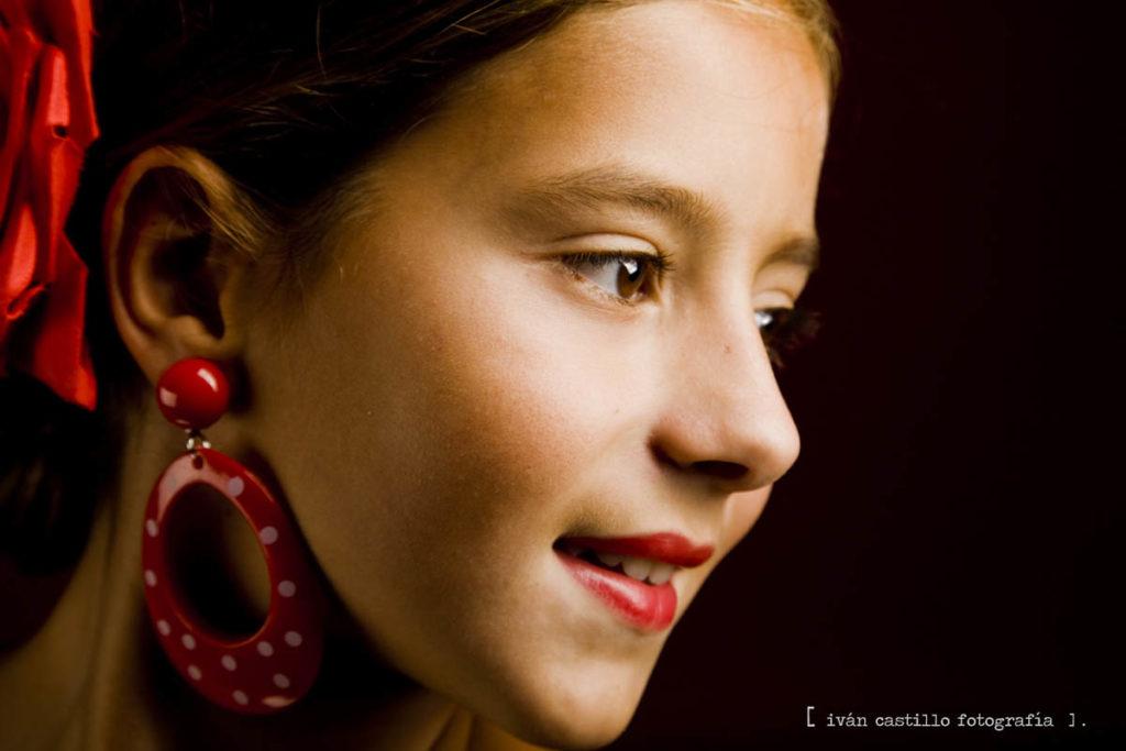 rojo- niña