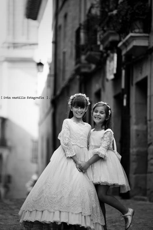 triana y su hermana en briones